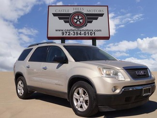 2007 GMC Acadia SLE - Auxiliary Input, 3rd Row, Cruise Cntrl | Lewisville, Texas | Castle Hills Motors in Lewisville Texas