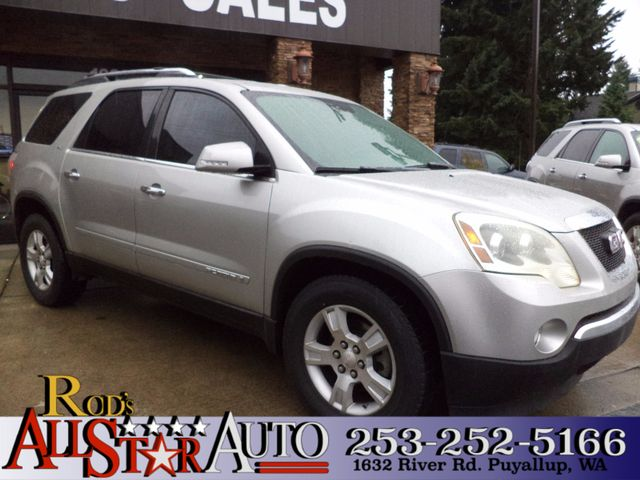 2007 GMC Acadia SLT The CARFAX Buy Back Guarantee that comes with this vehicle means that you can