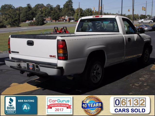 2007 GMC Sierra 1500 Classic REG CAB Long Bed RWD Mooresville , NC 2