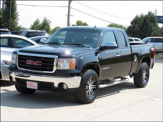 2007 GMC Sierra 1500 SLT Z71 Leather/FalconATs/Black Alloys in  Iowa