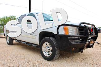 2007 GMC Sierra 2500 HD SLT Crew Cab 4X4 6.6L Duramax Diesel Allison Auto LOADED Sealy, Texas