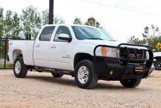 2007 GMC Sierra 2500 HD SLT Crew Cab 4X4 6.6L Duramax Diesel Allison Auto LOADED Sealy, Texas 1