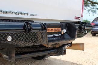 2007 GMC Sierra 2500 HD SLT Crew Cab 4X4 6.6L Duramax Diesel Allison Auto LOADED Sealy, Texas 18