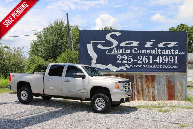 2007 Gmc Sierra 2500 Hd Crew Cab Slt 4WD 6.6 DURAMAX DIESEL LOADED ONLY 83K MILES CLEAN CARFAX | Baton Rouge , Louisiana | Saia Auto Consultants LLC in Baton Rouge  Louisiana