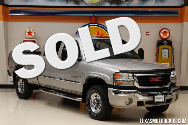 2007 GMC Sierra 2500HD Classic SLE2 Financing is available with rates as low a