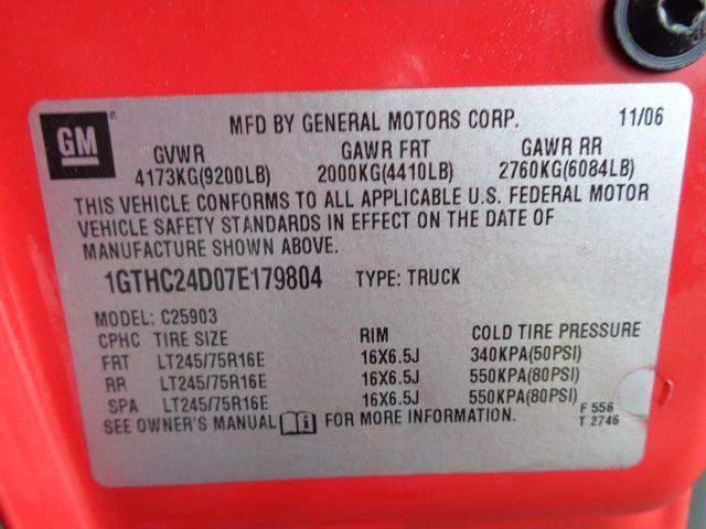 2007 GMC Sierra 2500HD Classic 6.6L DURAMAX Corpus Christi, Texas 32