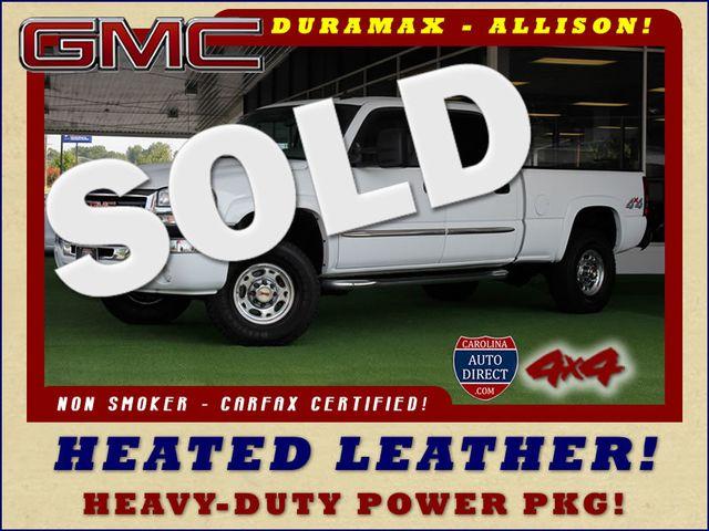 2007 GMC Sierra 2500HD Classic SLT Crew Cab 4x4 - DURAMAX - ALLISON! Mooresville , NC 0