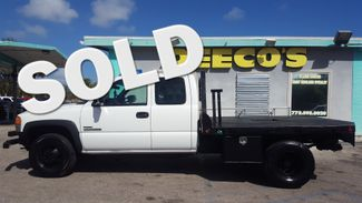 2007 GMC Sierra 3500 LBZ Duramax Diesel DRW Flatbed Fort Pierce, FL