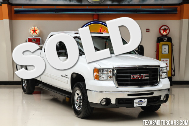 2007 GMC Sierra 3500HD SRW SLT This Clean Carfax accident free non-smoker 2007 GMC Sierra 3500HD