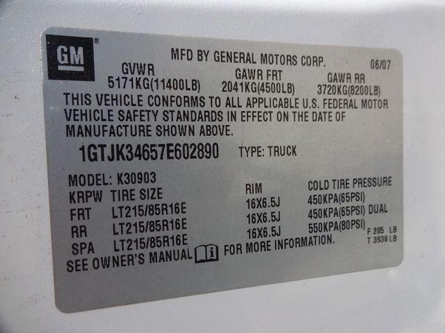 2007 GMC Sierra 3500HD DRW Work Truck Corpus Christi, Texas 34