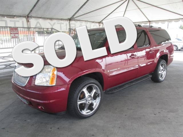2007 GMC Yukon XL SLE This particular Vehicles true mileage is unknown TMU Please call or e-ma