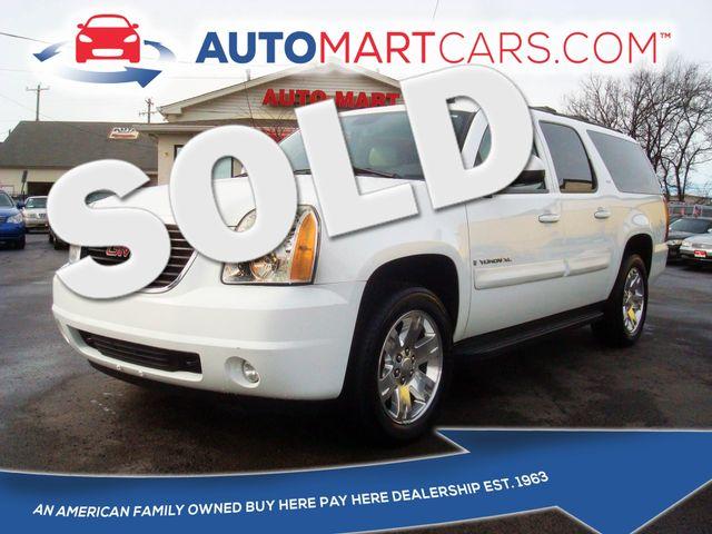 2007 GMC Yukon XL SLT | Nashville, Tennessee | Auto Mart Used Cars Inc. in Nashville Tennessee