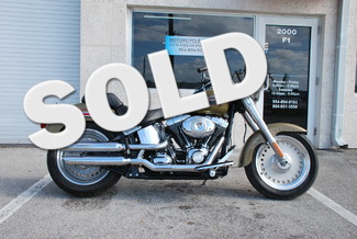 2007 Harley Davidson FLSTF FAT BOY $154 PER MONTH W/ 10 PERCENT DOWN Dania Beach, Florida