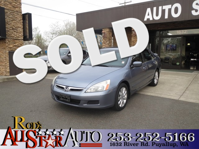 2007 Honda Accord EX-L The CARFAX Buy Back Guarantee that comes with this vehicle means that you c