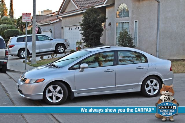2007 Honda CIVIC EX SEDAN SUNROOF CRUISE CONTROL ALLOY WHLS Woodland Hills, CA 1