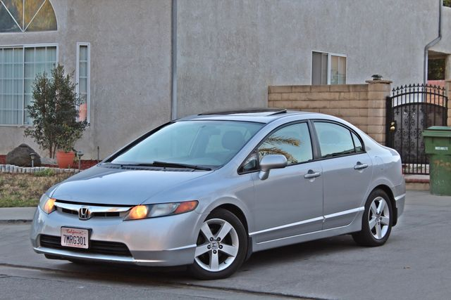 2007 Honda CIVIC EX SEDAN SUNROOF CRUISE CONTROL ALLOY WHLS Woodland Hills, CA 0