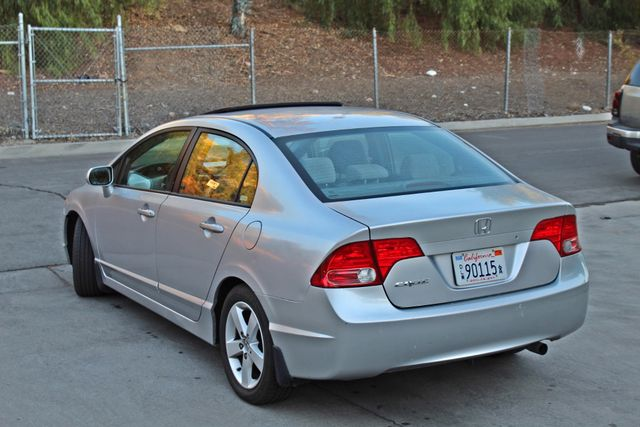 2007 Honda CIVIC EX SEDAN SUNROOF CRUISE CONTROL ALLOY WHLS Woodland Hills, CA 2