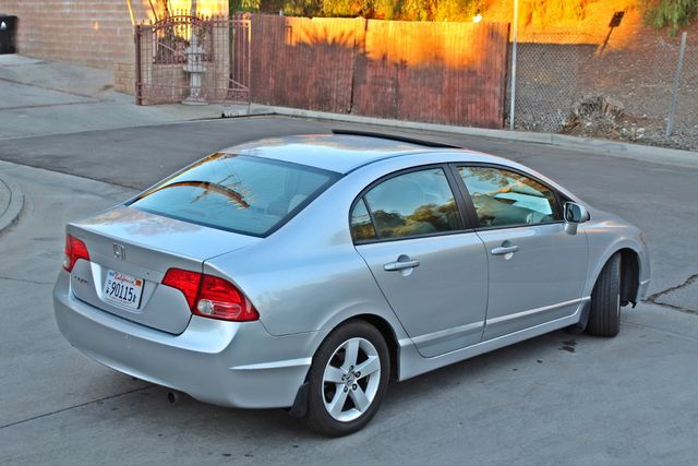 2007 Honda CIVIC EX SEDAN SUNROOF CRUISE CONTROL ALLOY WHLS Woodland Hills, CA 4
