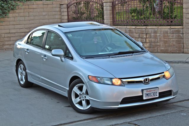 2007 Honda CIVIC EX SEDAN SUNROOF CRUISE CONTROL ALLOY WHLS Woodland Hills, CA 6
