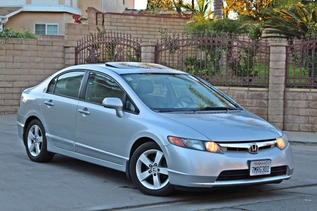 2007 Honda CIVIC EX SEDAN SUNROOF CRUISE CONTROL ALLOY WHLS Woodland Hills, CA 7