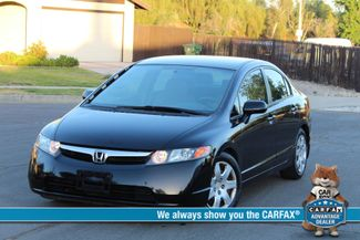 2007 Honda CIVIC LX 4 DOORS SEDAN AUTOMATIC 66K MLS SERVICE RECORDS! Woodland Hills, CA
