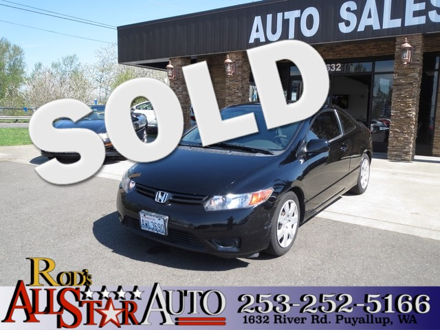 2007 Honda Civic LX The CARFAX Buy Back Guarantee that comes with this vehicle means that you can