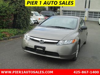 2007 Honda Civic Sedan DX-G Seattle, Washington 2