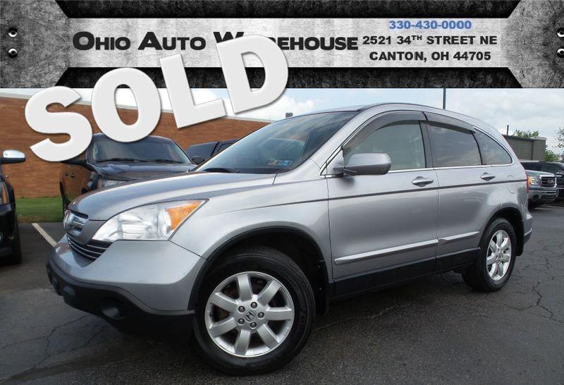 2007 Honda CR-V EX-L AWD Sunroof Leather Cln Carfax We Finance | Canton, Ohio | Ohio Auto Warehouse LLC in Canton Ohio