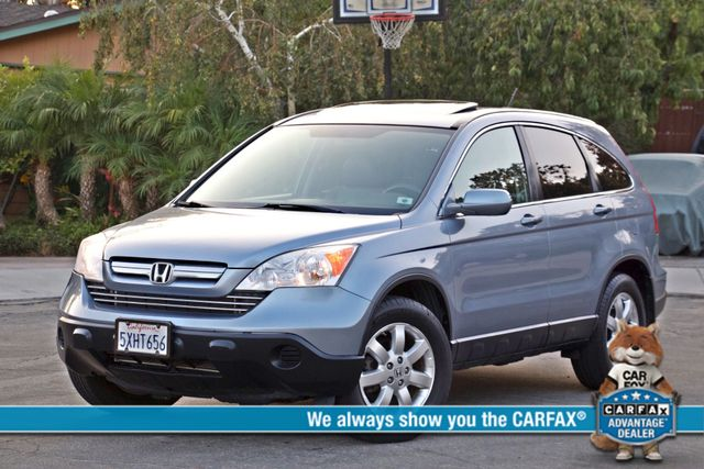2007 Honda CR-V EX-L AUTOMATIC LEATHER ALLOY WHLS 1-OWNER SERVICE RECORDS NEW TIRES Woodland Hills, CA 0