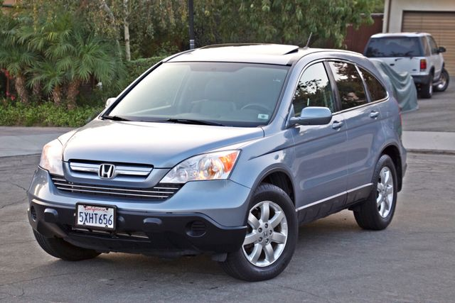 2007 Honda CR-V EX-L AUTOMATIC LEATHER ALLOY WHLS 1-OWNER SERVICE RECORDS NEW TIRES Woodland Hills, CA 1
