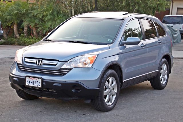 2007 Honda CR-V EX-L AUTOMATIC LEATHER ALLOY WHLS 1-OWNER SERVICE RECORDS NEW TIRES Woodland Hills, CA 8