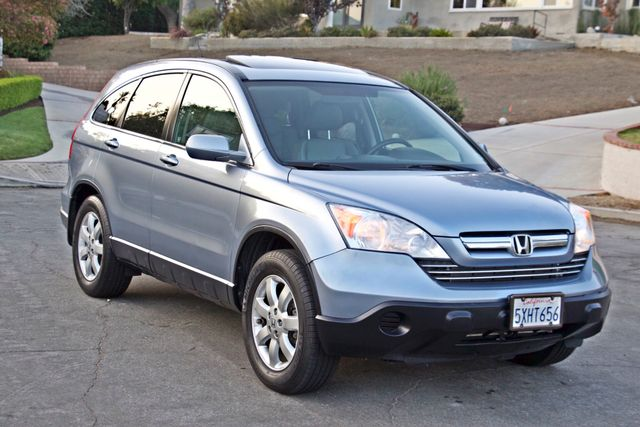 2007 Honda CR-V EX-L AUTOMATIC LEATHER ALLOY WHLS 1-OWNER SERVICE RECORDS NEW TIRES Woodland Hills, CA 6