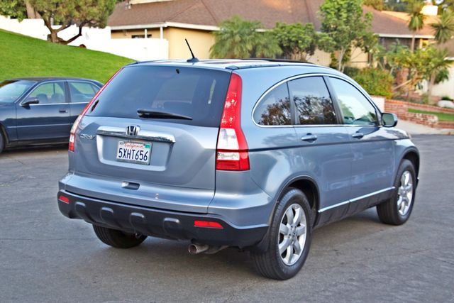 2007 Honda CR-V EX-L AUTOMATIC LEATHER ALLOY WHLS 1-OWNER SERVICE RECORDS NEW TIRES Woodland Hills, CA 4