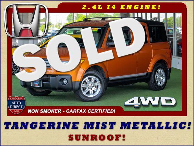 2007 Honda Element EX 4WD - SUNROOF - TANGERINE MIST PAINT! Mooresville , NC 0