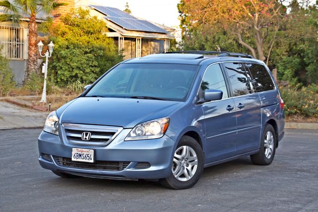 2007 Honda ODYSSEY EX-L ONLY 89K MLS LEATHER SUNROOF 1-OWNER XLNT CONDITION Woodland Hills, CA 1