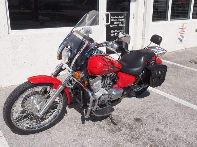 2007 Honda Shadow Spirit 750 C2 Dania Beach, Florida 8