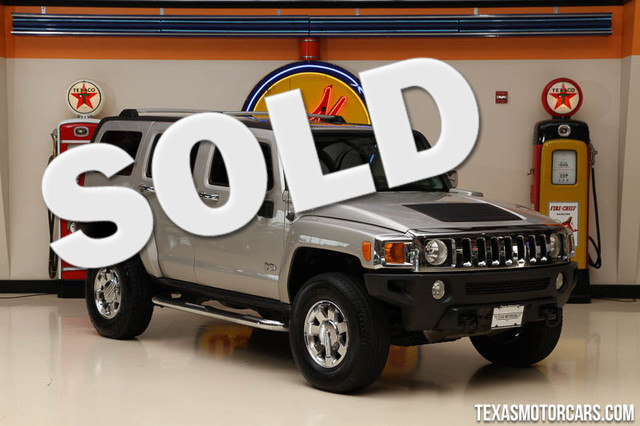 2007 HUMMER H3 SUV This 2007 HUMMER H3 SUV is in great shape with only 106 735 miles The H3 has