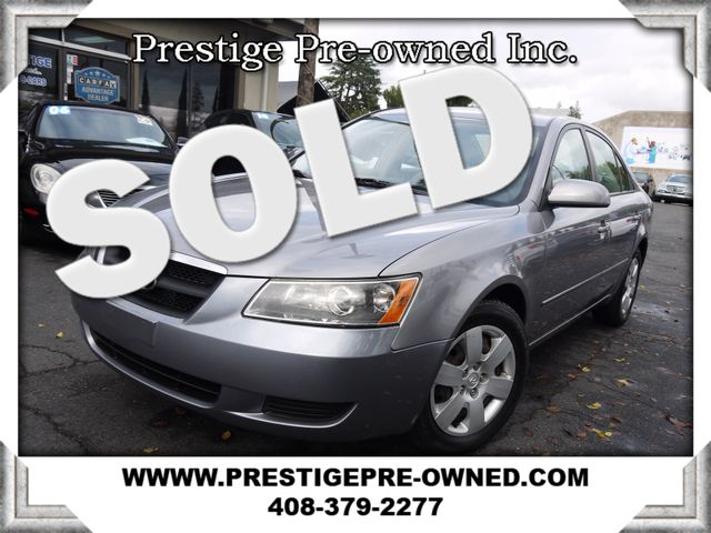 2007 Hyundai Sonata GLS 2007 HYUNDAI SONATA GLS SEDAN---EXTREMELY LOW 47K MILES--- VERY WE