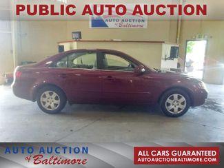 2007 Hyundai SONATA GLS    JOPPA, MD   Auto Auction of Baltimore  in Joppa MD