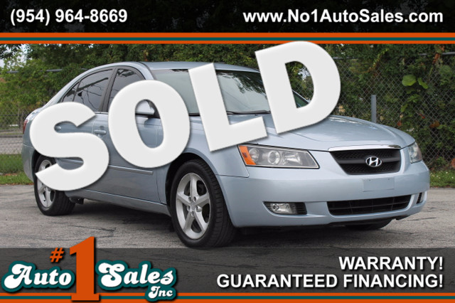 2007 Hyundai Sonata SE  WARRANTY CARFAX CERTIFIED 2 OWNERS 19 SERVICE RECORDS FLORIDA VEHIC