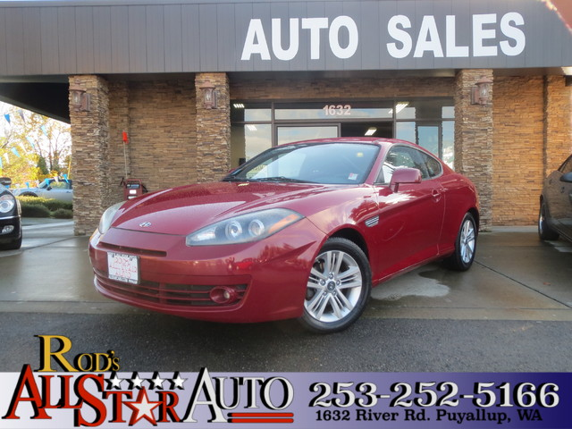 2007 Hyundai Tiburon GS The CARFAX Buy Back Guarantee that comes with this vehicle means that you