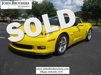 2007 Sold Chevrolet Corvette Z06 Conshohocken, Pennsylvania