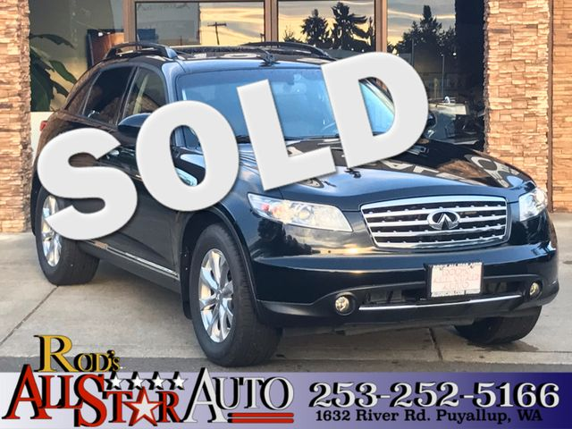 2007 INFINITI FX35 4WD This vehicle is a CarFax certified one-owner used car Pre-owned vehicles c