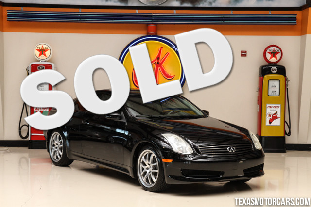 2007 Infiniti G35 This Clean Carfax 2007 Infiniti G35 is in great shape with only 120 800 miles
