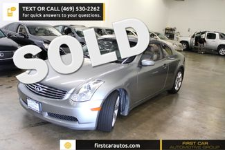 2007 Infiniti G35 Coupe | Plano, TX | First Car Automotive Group in Plano, Dallas, Allen, McKinney TX