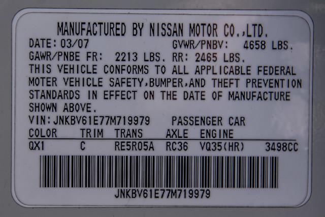 2007 Infiniti G35 Journey - AUTO - 91K MILES - SUNROOF Reseda, CA 40