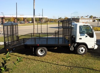 2007 Isuzu NPR,DIESEL, Landscaping Truck Bed Irving, Texas 4