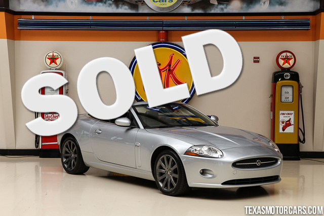 2007 Jaguar XK This Clean Carfax 2007 Jaguar XK is in great shape with only 80 128 miles The XK