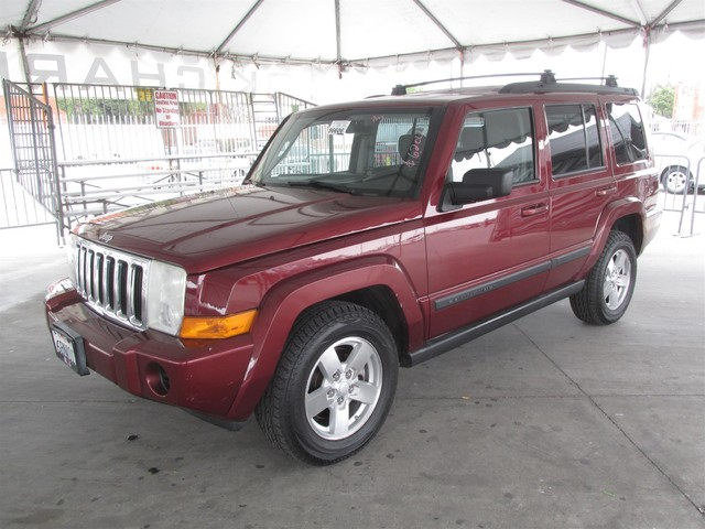 2007 Jeep Commander Sport This particular Vehicle comes with 3rd Row Seat Please call or e-mail t