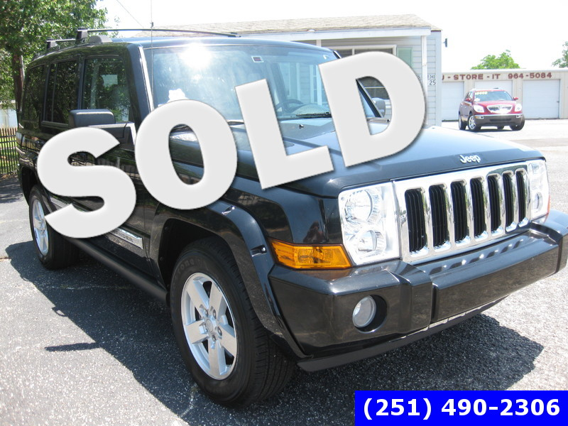 2007 Jeep Commander Limited in LOXLEY AL